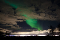 Northern Light seen in Tromso, Norway