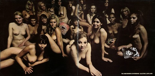 Jimi Hendrix Experience - Electric Ladyland (nude cover)