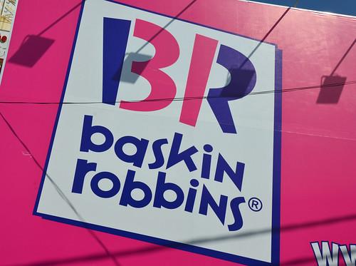 Baskin Robbins store banner