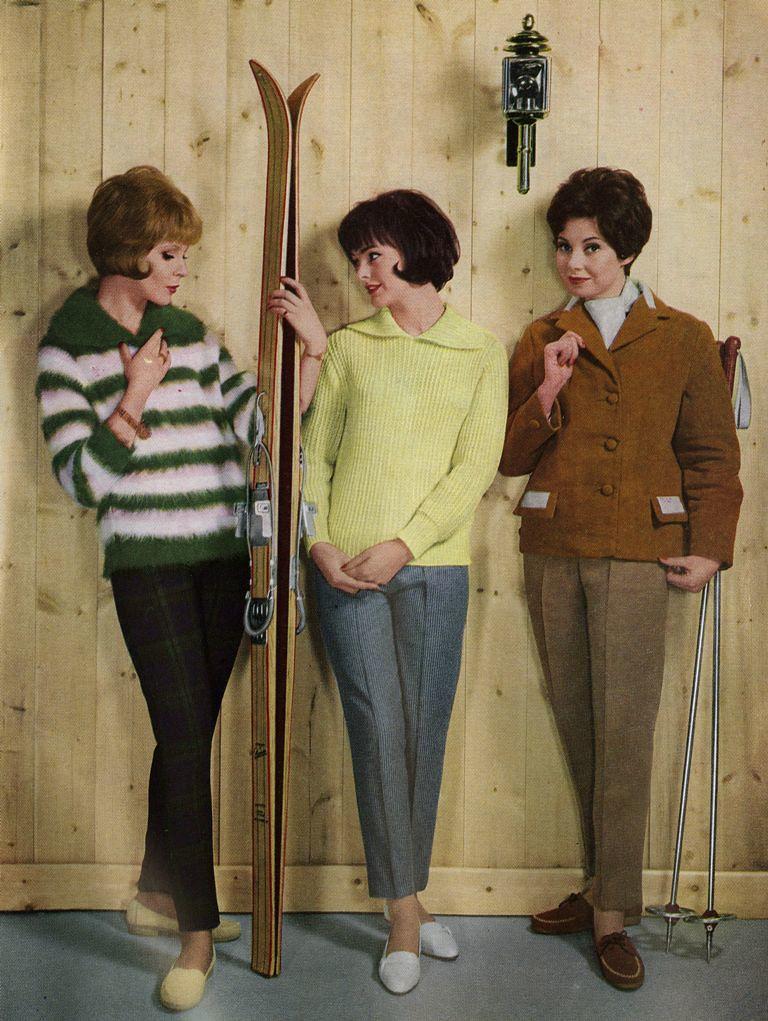 Women's fashions, 1961