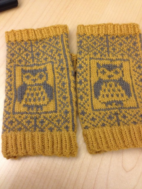 Owlie Mitts!