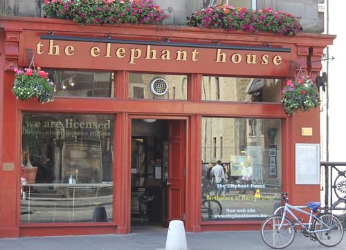 Façade du Elephant House