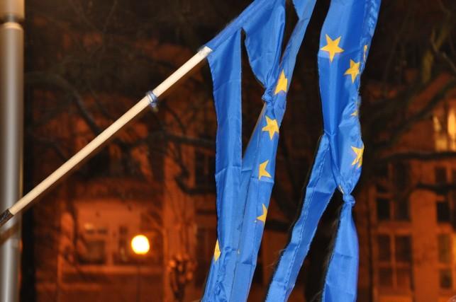 Flaga UE gorzow