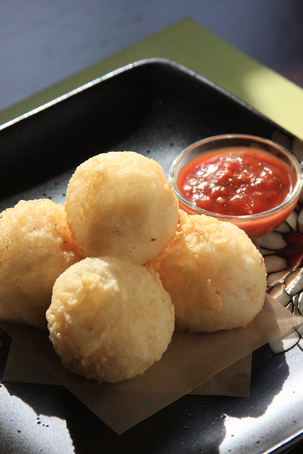 Deep-Fried Vegan Ricotta Puffs