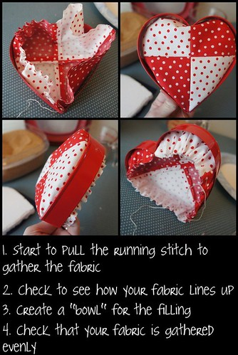 Fitting fabric to the cookie cutter