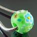 Charm bead : Light green