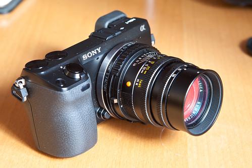 6831987133 2cd3406e30 Adaptador helicoidal de Leica M a Sony NEX y Focus Peaking