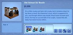 Old School DJ Booth