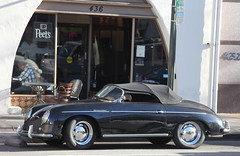 automobile(1.0), automotive exterior(1.0), wheel(1.0), vehicle(1.0), automotive design(1.0), porsche 356(1.0), porsche(1.0), subcompact car(1.0), compact car(1.0), antique car(1.0), classic car(1.0), land vehicle(1.0), convertible(1.0), supercar(1.0), sports car(1.0), motor vehicle(1.0),