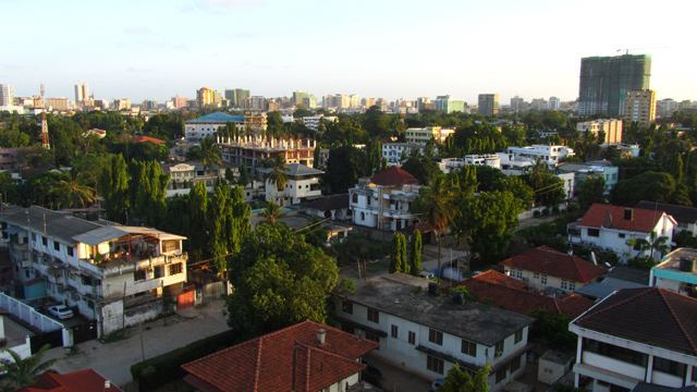 View from Upanga, Dar Es Salaam