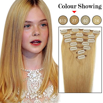 Honey Blonde Hair Extensions 3
