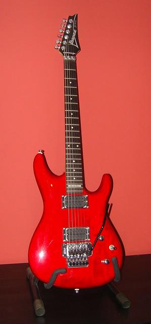 Photo:Ibanez Joe Satriani Series Guitar By GorissM