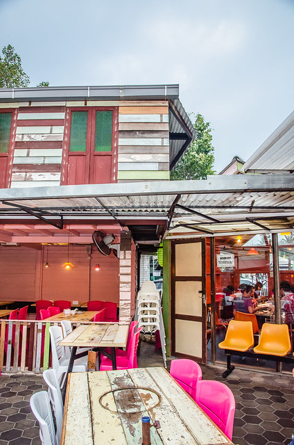 Another wooden house at BBQ Thai: Thai Street Food
