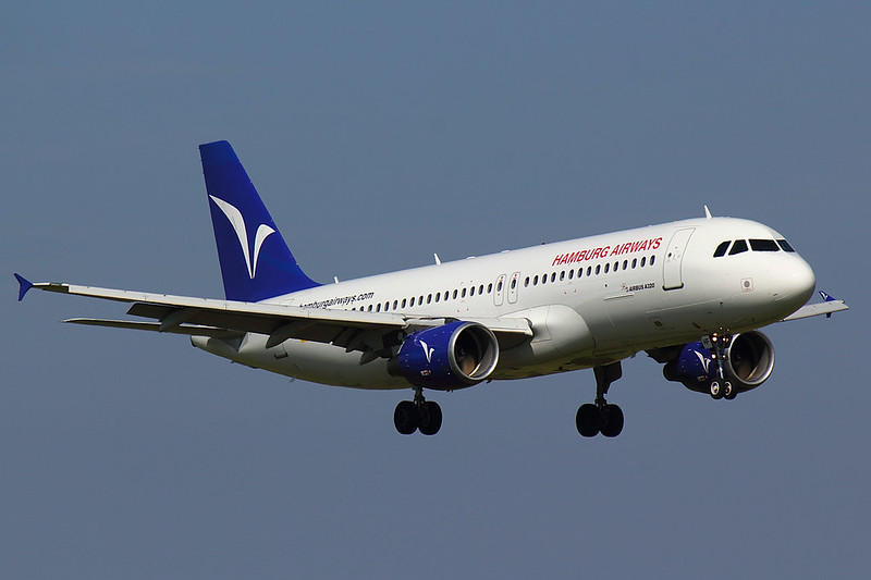 Hamburg Airways - A320 - D-AHHF (1)