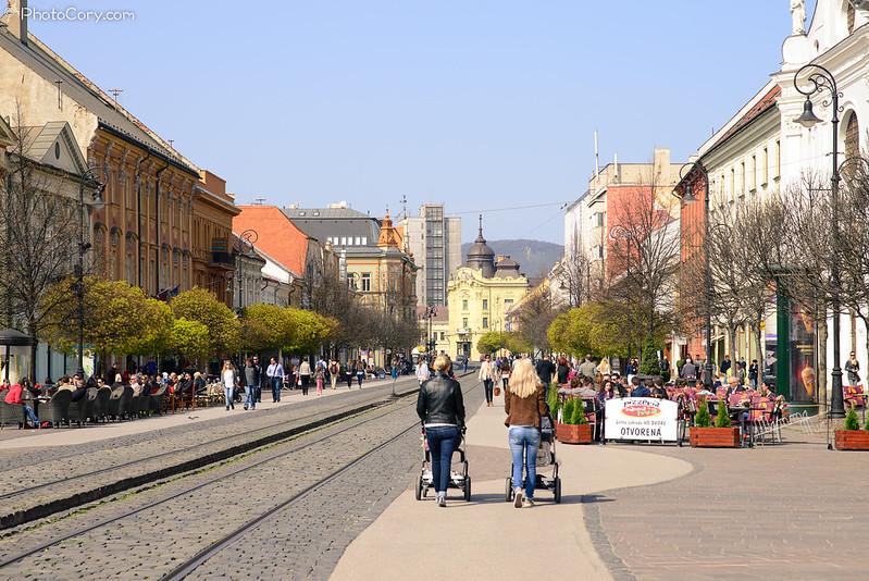 kosice, main street