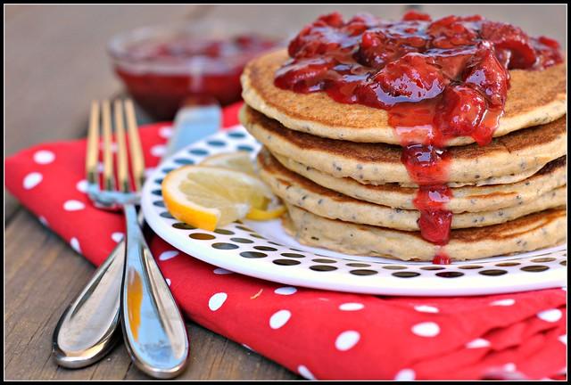 Lemon Chia Seed Pancakes 4