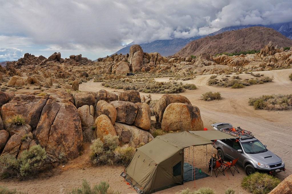 Alabama Hills Quick Camping Trip American Adventurist Forum