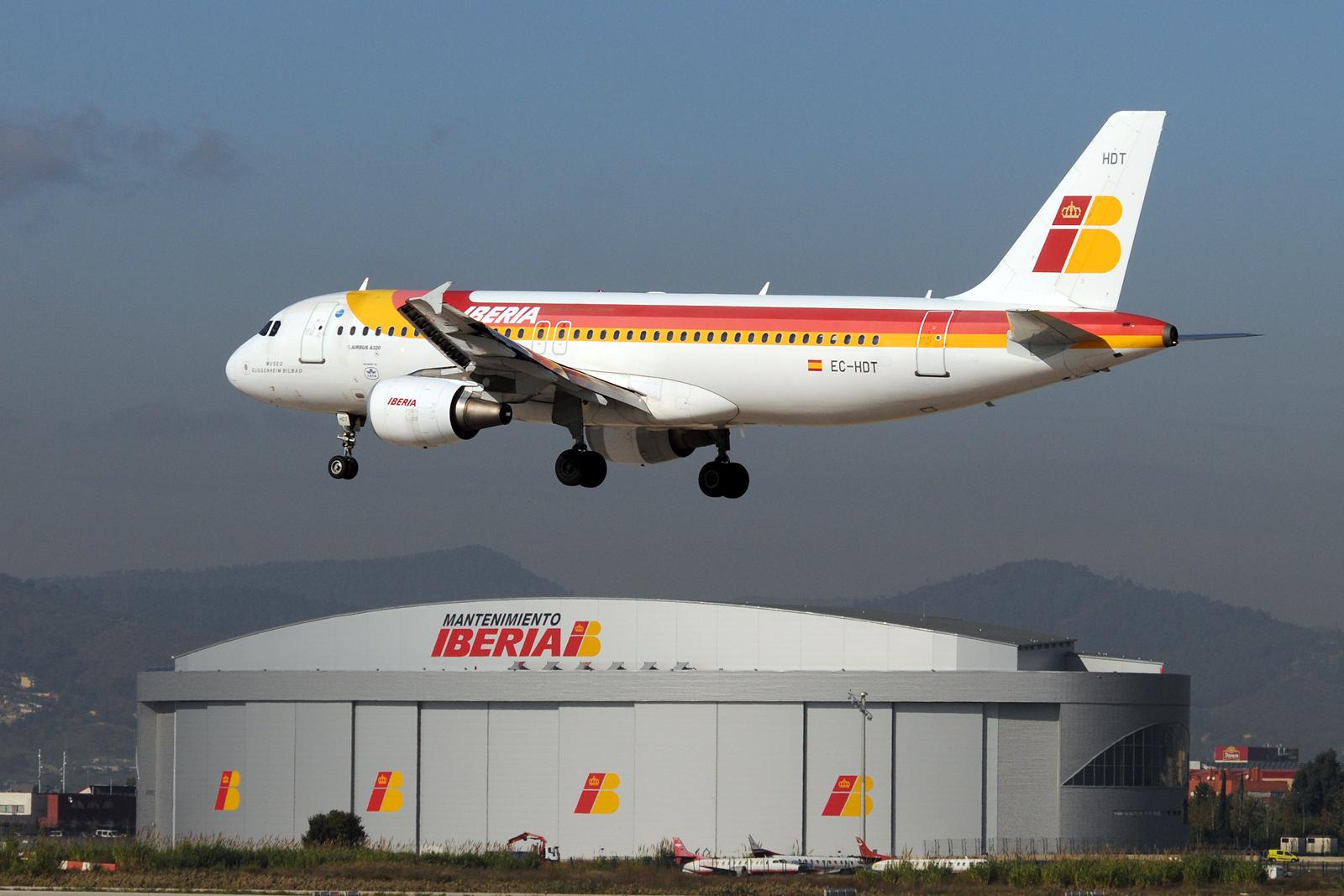 IB hangar de El Prat