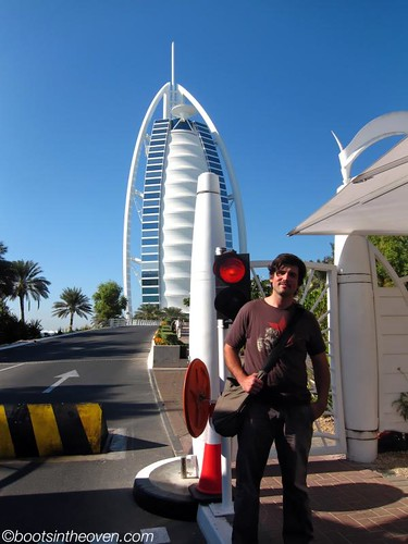 This is as close as you can get to the Burj al-Arab without a reservation.