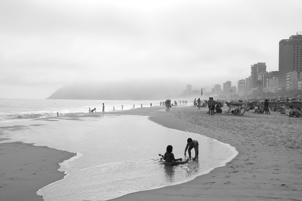 Was about to rain in Rio, but nobody cared | Ipanema beach, Rio de Janeiro, Brazil | Travel Photography