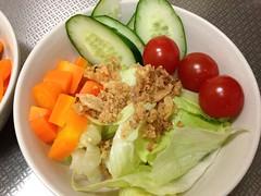 朝食サラダ(2011/11/24)
