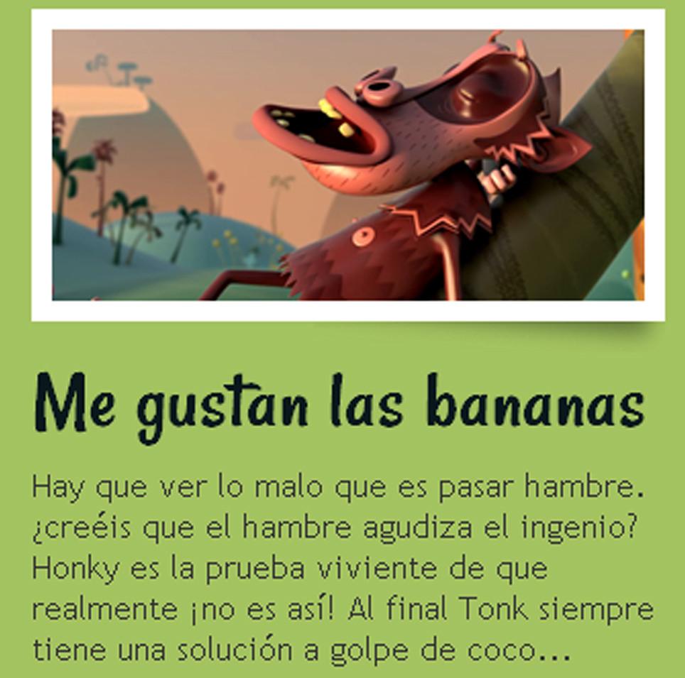 Me gustan las bananas