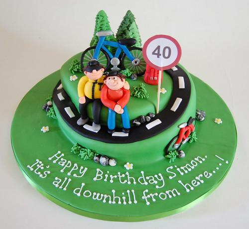 Road Cycling Cake Beautiful Birthday Cakes