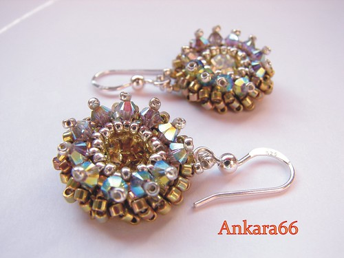 TWINKLE EARRINGS by Ankara66