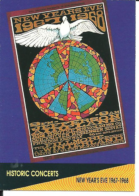 12-31-67 Jefferson Airplane/Big Brother & the Holding Co./Quicksilver Messenger Service/Freedom Highway @ Winterland - San Francisco, CA
