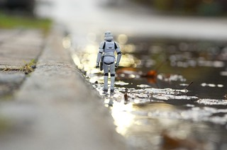 The lonely wet-trooper