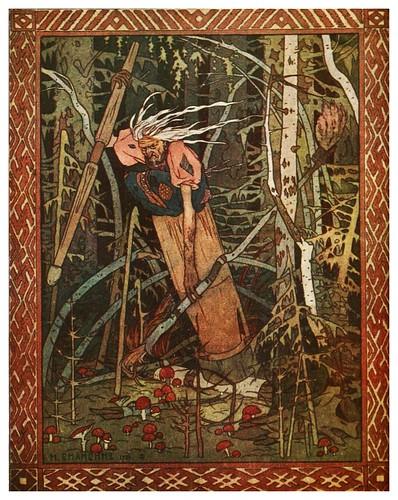 010-Baba-Yaga-Russian-wonder tales ..1912-Ivan Jakovlevich Bilibin