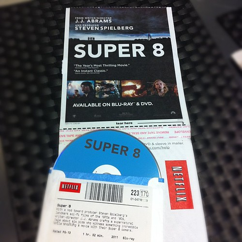 Super 8 Netflix DVD by stevegarfield