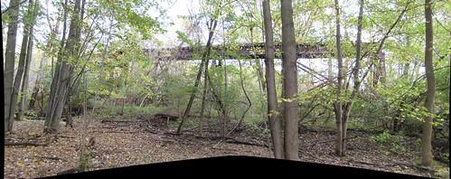railroad bridge abandoned