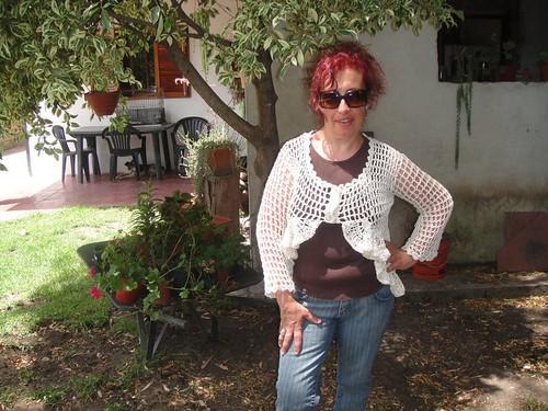 SACO EN HILO RÚSTICO NATURAL by tía chaly