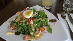 Stillwater smoked trout salad