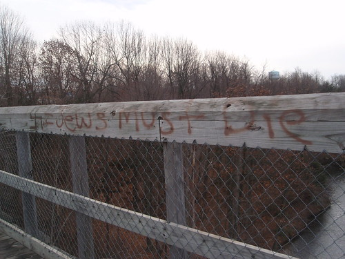 hate crime graffiti