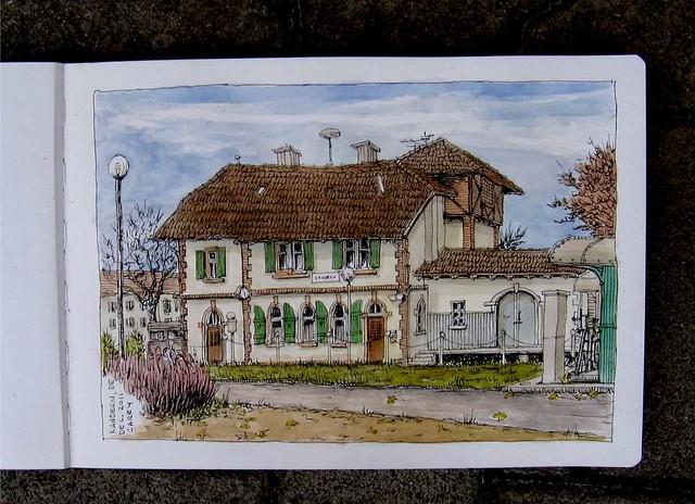 Kandern bahnhof, DE