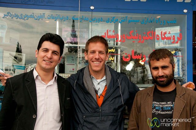 Iranian Men with Dan - Fuman, Iran