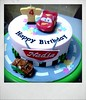 Cars cake for girl