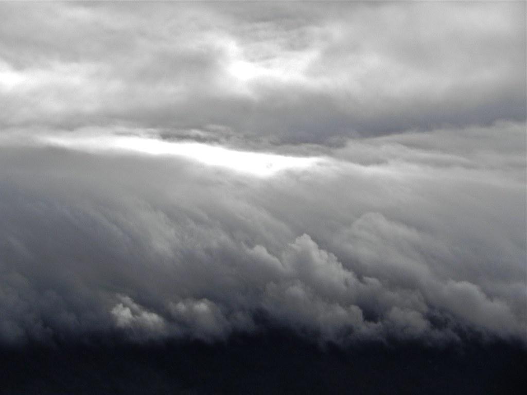 Ciel de Geneve sur le Saleve