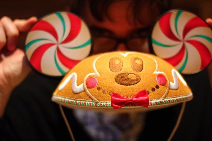 Gingerbread Mickey Ears