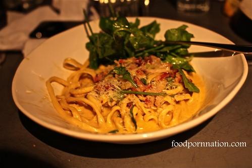 Bucatini carbonara @ Jaime's Italian Sydney