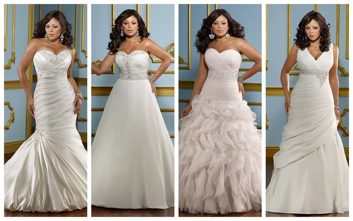 Fabulously Full-figured Bridal Style by Nina Renee Designs