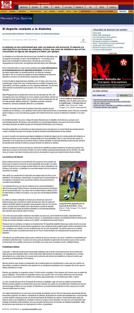 Site Fox Sports 12-09-08