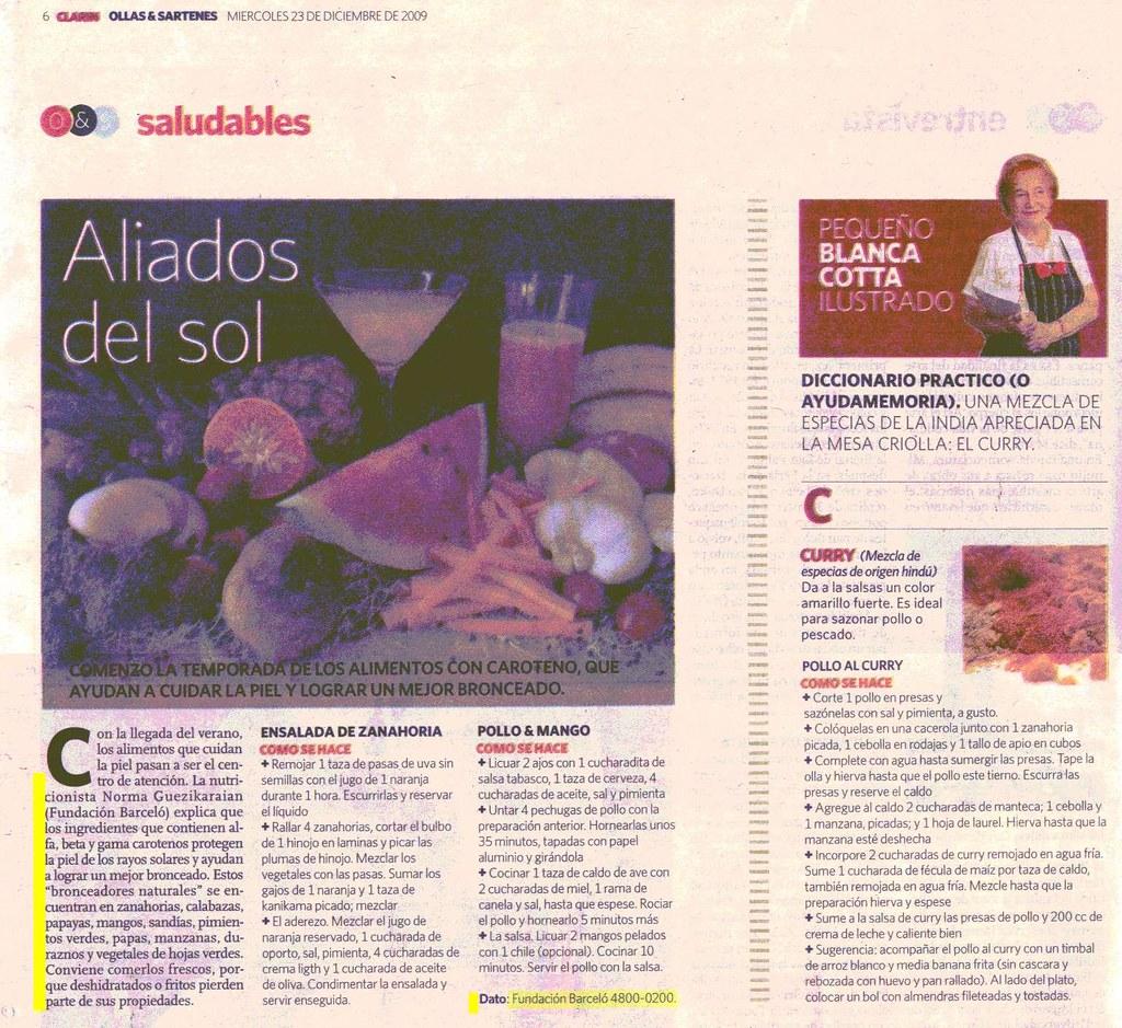 Diario Clar°n 23-12-09