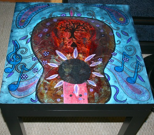 Music Garden Table by Rick Cheadle Art and Designs