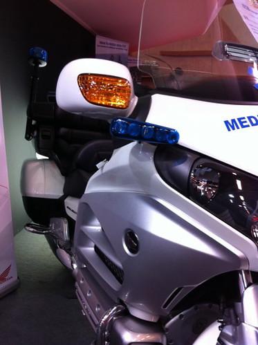 Phare moto Médecin d'Urgence