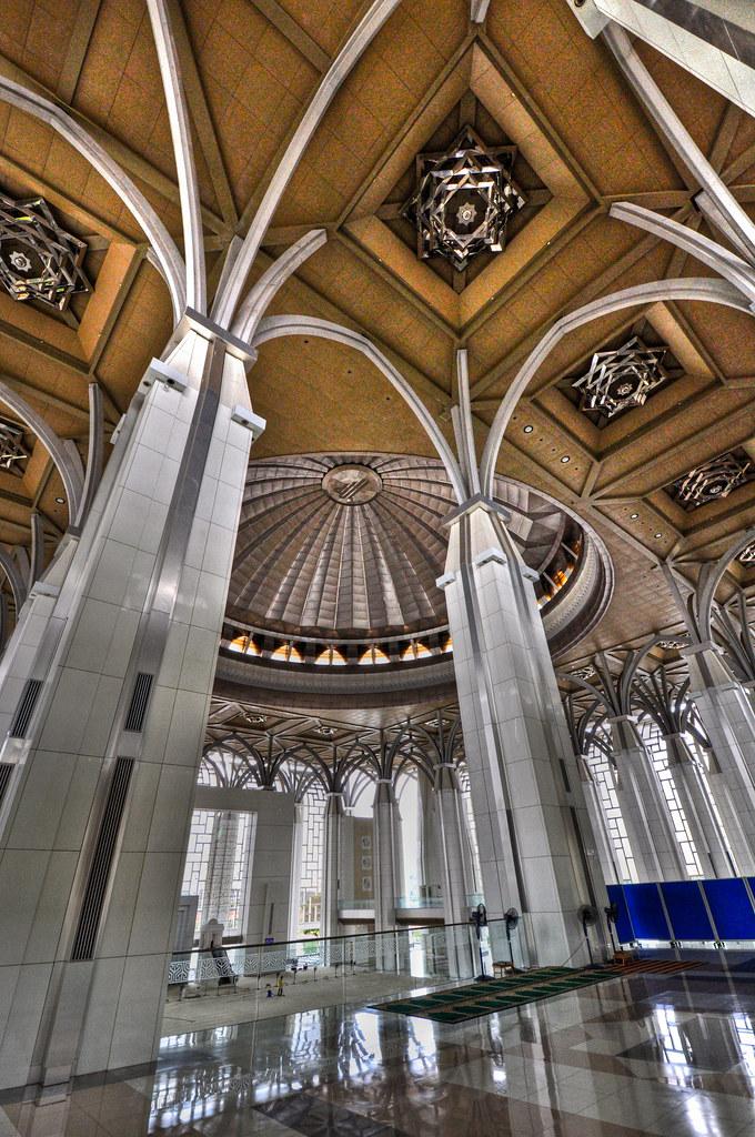 Steel mosque ...