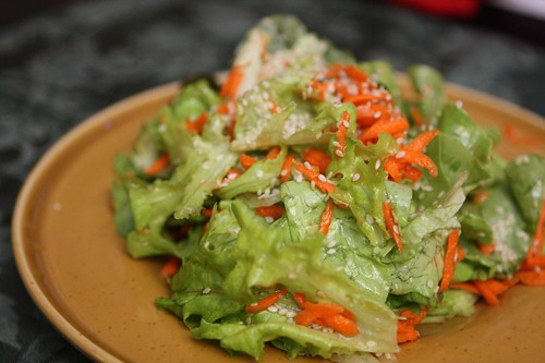 Lime Sesame Salad