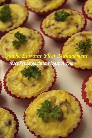 Quiche Lorraine Fleet Management